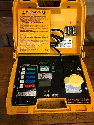 Martindale EasyPAT 2100 PAT Tester. Good Condition