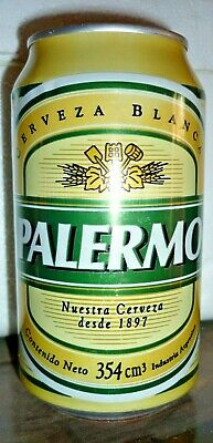 Collectable beercans: Palermo 354ml beer can (ARGENTINA)