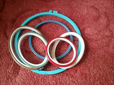 Joblot Embroidery Hoops Mixed Sizes