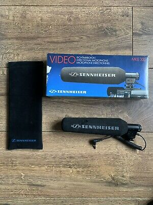 Sennheiser MKE 300 D Directional Microphone For Filming Camera Equipment Boxed