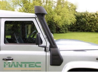 Genuine Mantec Raised Air Intake for Defender 2.2 2.4, 300tdi and TD5 (RAIPJ2)