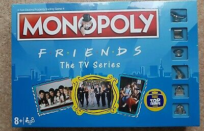 MONOPOLY FRIENDS The TV Series Board Game BRAND NEW SEALED