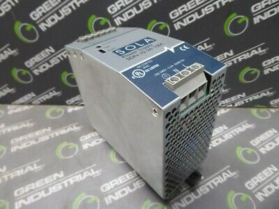 USED SOLA SDN 10-24-100C Power Supply 100-240 VAC 3.5 A 50/60 Hz 24VDC 10A