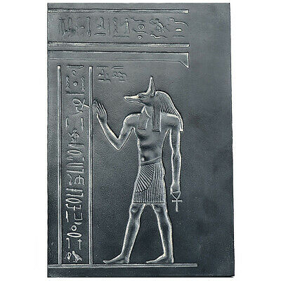Egyptian Anubis proffering life wall plaque relief museum reproduction 12 louvre