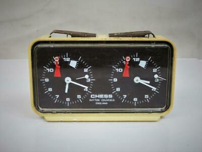 Vintage  Chess Clock Timer  By Sutton Colfield For Spare Or  Repair