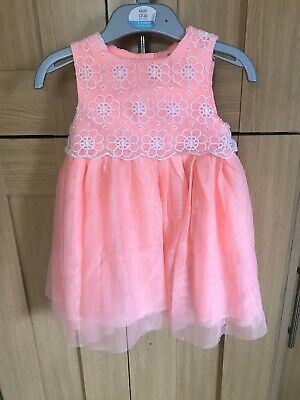 River Island Baby Girls Dress Age 12-18 Months Ex Condition