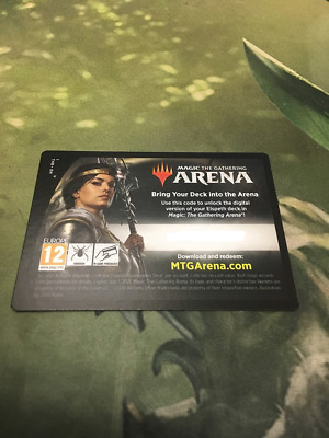 Elspeth, Undaunted Hero Arena Code Planeswalker Deck Mtg Magic EMAIL ONLY Redeem