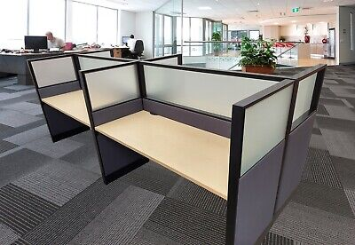 Hon Accelerate Call Center cubicles