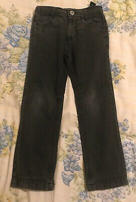 Cherokee Black Skinny Leg Jeans Age 5-6 Years Adjustable Waist