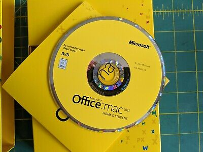Microsoft Office Mac 2011 Home and Student (Retail)