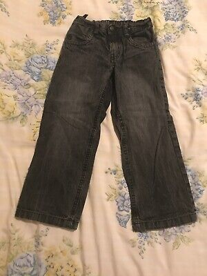 Cherokee Black Wash Jeans Ages 5-6 Years Adujstable Waist