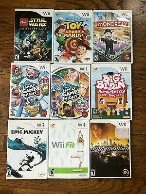 Games Wii - You Choose from Selection