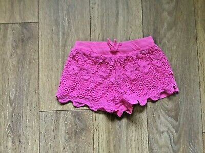 Ladies Or Girls  Atmosphere Pink  Shorts Lace Front Age Uk 4