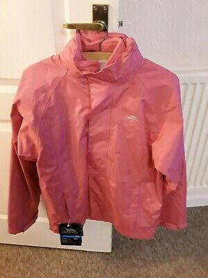 New With Tags Girls Pink Coat With Hood And Fleece Age 11/12 Years By Trepass