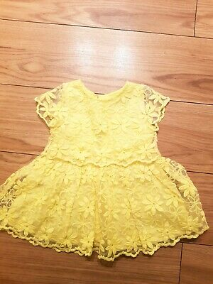 Next baby Girl Dress 3-6months