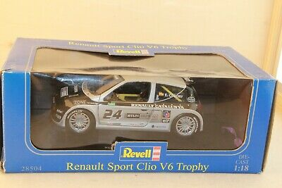 Renault sport clio trophy auto sport #81 letellier 1:18 Revell nuevo /& OVP 28503