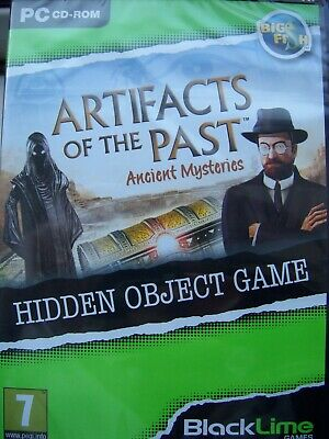 Ancient Mysteries---Artifacts Of The Past---Hidden Object---Pc Cd---Free Post Uk