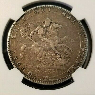 1820 Lx Great Britain Silver Crown George Iii Ngc Vf 25 Great Natural Surfaces
