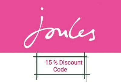 Joules Discount Code 15% Off Full Priced Items UK