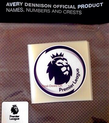2019-20 FA Premier League Official ADULT REPLICA SIZE Football Badge Patch