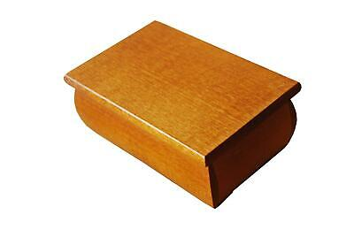 Wooden Jewellery Box In Brown Color