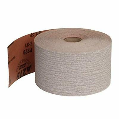 Norton 66261131686 Abrasive Roll 2-3/4 inchX45 Yd P220-B No-Fil A275