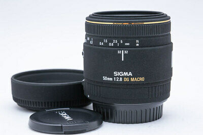 SIGMA EX 50mm F2.8 DG MACRO for Canon camera lens From Japan Free shipping