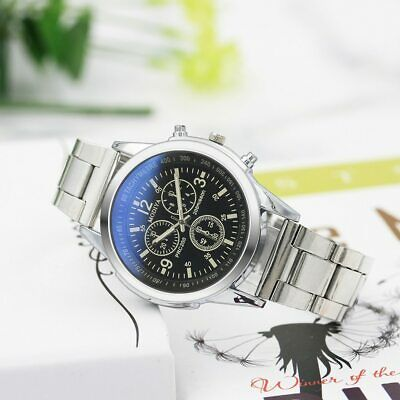Mens Watches Top Brand Luxury Business Sports Watch Stainless Steel