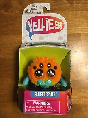 YELLIES Flufferpuff Spider Voice Activated Fun Kids Toys Ages 5+