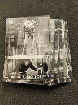 2020 Topps Star Wars Black & White RotJ - Behind the Scenes Complete Set 24 Crds