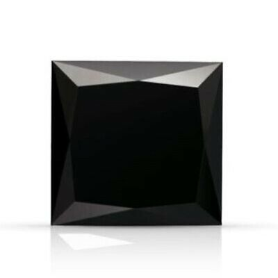 3.25 MM Black Princess Cubic Zirconia Vibrant (CZ) Loose Stone For Jewelry