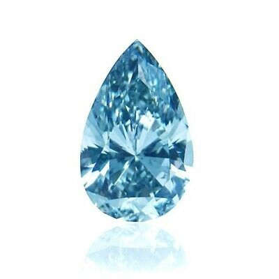 Pear Aquamarine 4x3 MM Cubic Zirconia Vibrant (CZ) Loose Stone For Jewelry