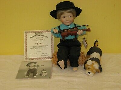 "Hillview Lane Limited Edition Porcelain Doll ""Ethan"" 1994 with COA"