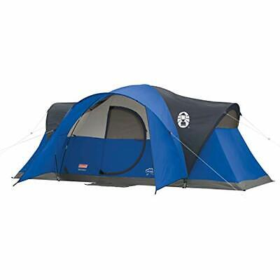 Coleman Tent for Camping | Montana Tent with Easy Setup (8-Person|Blue|Tent)