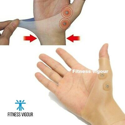 Magnetic Anti Arthritis Therapy Gloves Rheumatoid Hand Pain Health Compression