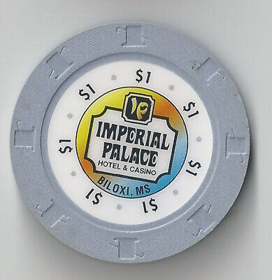 $1 Mississippi 1St Edt Imperial Palace Casino Chip Biloxi Grey H&C Mold