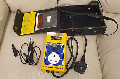 Parker Bell PAC500-SP Portable Appliance Tester.
