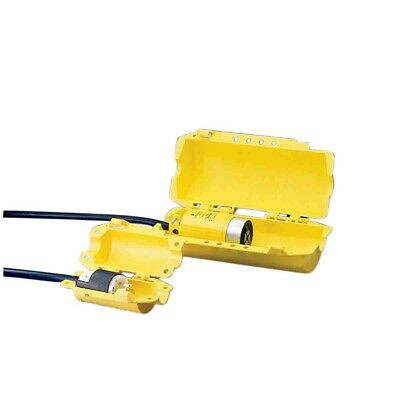 Brady Hubbell Safety Plugout lockout devise 300mm Yellow