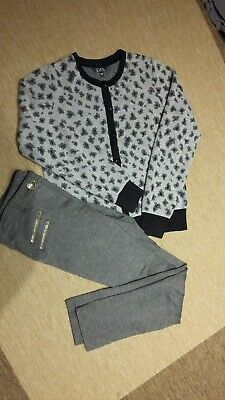 Next Girls Gray Trousers And Start Jumper Age 11-12 Years