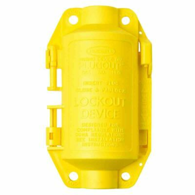 Brady Hubbell Safety Plugout lockout devise 188mm Yellow