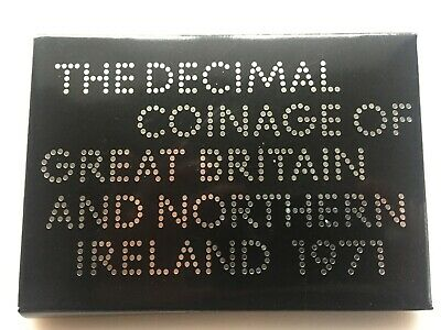 1971 Decimal Coinage Of Great Britain & Northern Ireland. Bn