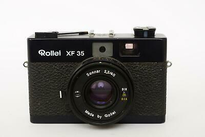 Rollei XF 35 camera with Sonnar 40mm 1:2.3 lens