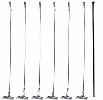 Pack of 6 - Duckbill 88-DB1 Earth Anchors with 1 Drive Steel Tool (Bundle)