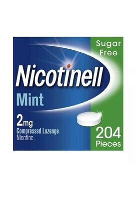 nicotinell mint 2mg extra strenght lozenge 204 lozenges Limited Offer 25%off