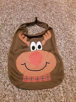Pet rudolph Outfit Puppy Cat Dog Cape Fancy Dress Gift bnwt