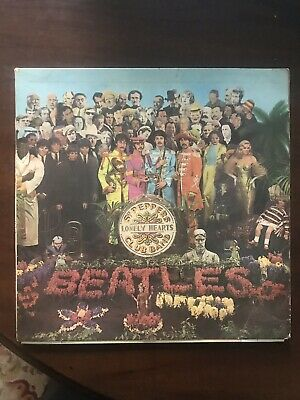 The Beatles Sgt.Peppers 1967 Rare Mono First Press 1/1 Stamper KT Taxcode VG/VG+
