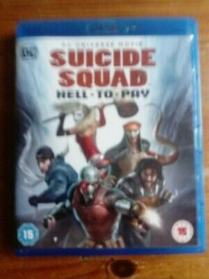 Suicide Squad Hell To Pay Blu Ray Region B