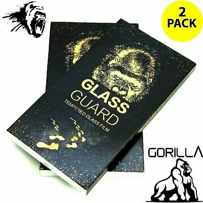 iPhone 8 Screen Protector - Tempered Glass Film 100% Genuine Gorilla Twin Pack