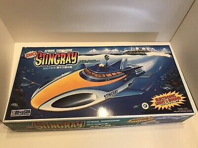 Rare Doyusha Atomic submarine Big Stingray Electronic Light & Sound