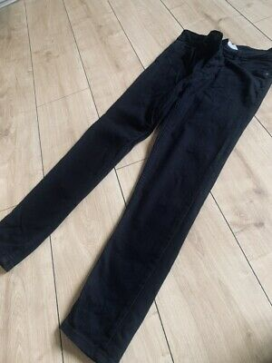 Boys Next Black Skinny Jeans Age 12 Worn Once